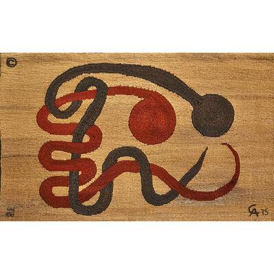 """Bon Art, 'Maguey fiber tapestry, """"Lambrizi,"""" Guatemala', 1975"""