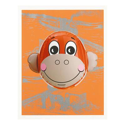 Jeff Koons, 'Monkey Train (Orange)', 2007