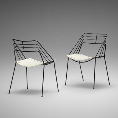 Mathieu Matégot, 'Kyoto chairs, pair', 1954