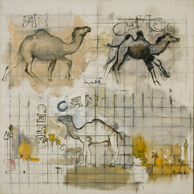 Larry Rivers, 'Three Camels', 1962