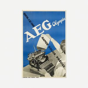 Francis Bernard, 'AEG Olympia poster', c. 1935