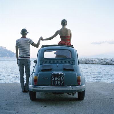 Rodney Smith, 'Saori & Mossimo Holding Hands, Almafi, Italy', 2007