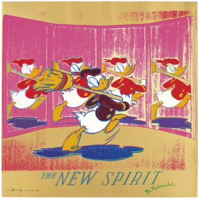 Andy Warhol, 'The New Spirit (Donald Duck) F&S II.357', 1985