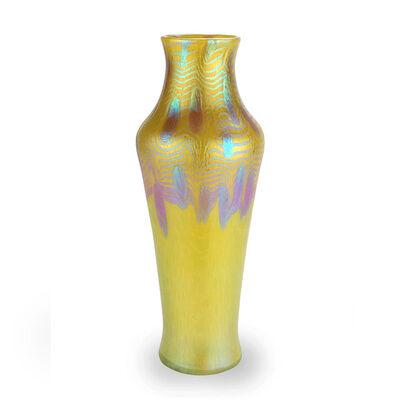 Loetz, 'Loetz Vase Phenomen Gre 3/430 yellow ca 1903 Vienna', ca. 1903