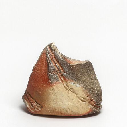 Kishimoto Kennin, 'Iga hanaire (Iga vase)', 1987-1988