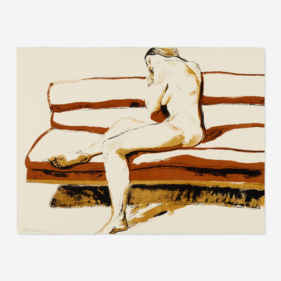 Philip Pearlstein, 'Nude on Couch (from Six New York Artists portfolio)', 1969