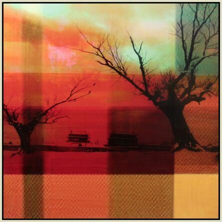 Sarah Nind, 'Plaid Sky with Trees', 2013