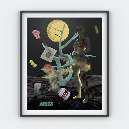 Tim Berresheim, 'Aspettatori (feel up the lime) AEI23 ', 2016