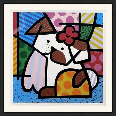 Romero Britto, 'VALLEY DOG', 1995
