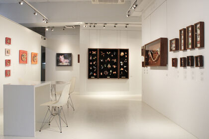REIJINSHA GALLERY - Yurie Kawagoe Solo Exhibition: Live together and color