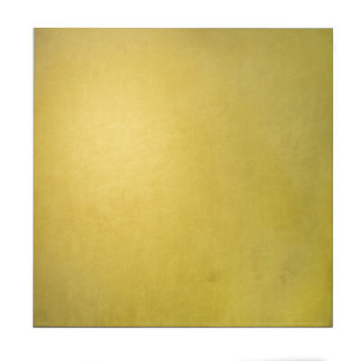 Marcia Hafif, 'Strontium Yellow Chromate', 1974
