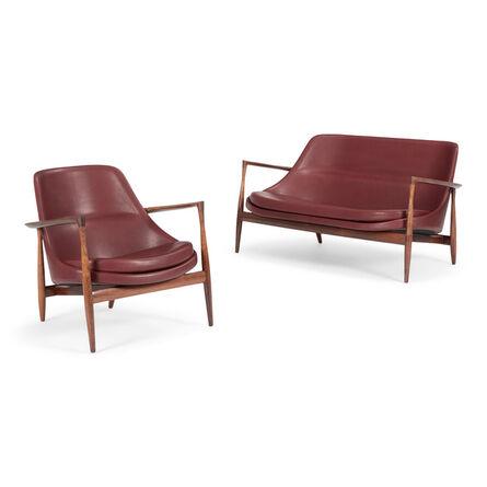 Ib Kofod-Larsen, 'Elizabeth chair and sofa', 1956