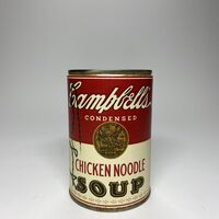Andy Warhol, 'Andy Warhol, Campbell's Chicken Soup Can Signed by Andy Warhol ', ca. 1960s/ 70s