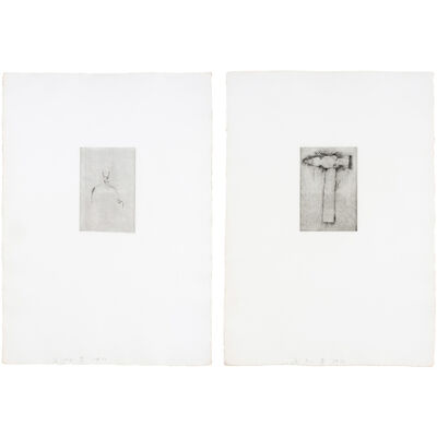 Jim Dine, '[PLIERS]; [HAMMER] (SEE WILLIAMS COLLEGE 63-92)', 1972