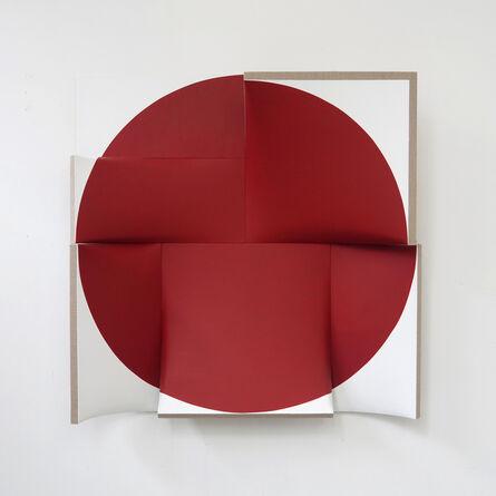 Jan Maarten Voskuil, 'Improved Pointless Indian Red', 2014