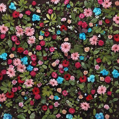 Eason Tsang Ka Wai, 'Floral Fabric No.5', 2013