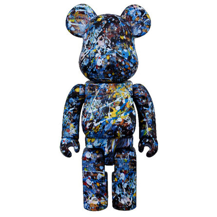 Jackson Pollock, '400% Bearbrick', 2016