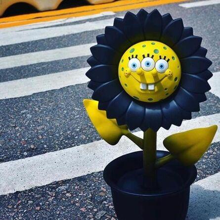 "Ron English, 'APPortofolio ""Shocking Sunflower""', 2017"