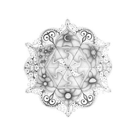 """Michiyo Ihara, 'Snowflakes #108 """"Matrix""""', 2013"""
