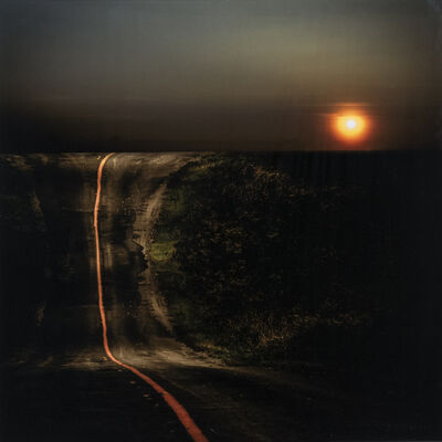 Mark Bartkiw, 'Highway - abstract juxtaposition photograph with dream-like elements', 2020