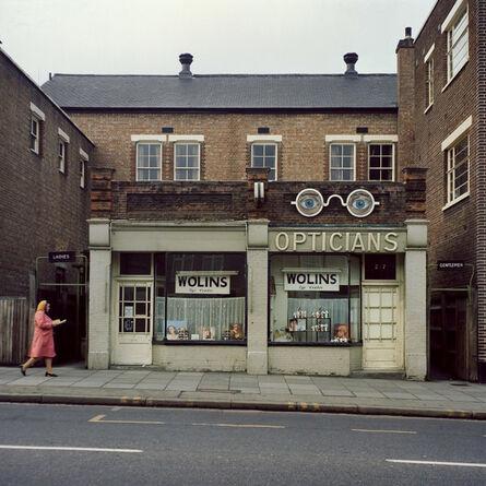 Peter Mitchell, 'Opticians, London, 1975', 2017