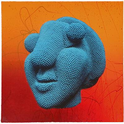 David Mach, 'Blue Picasso', 2012