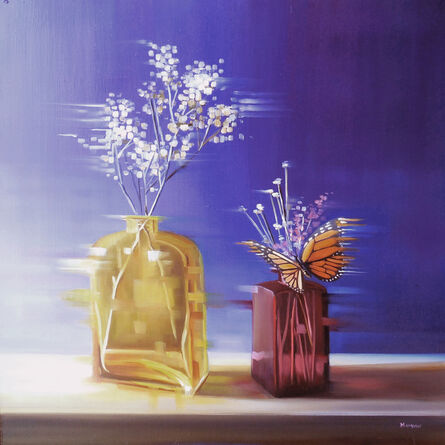 Michelle Condrat, 'Violet and Gold', 2014