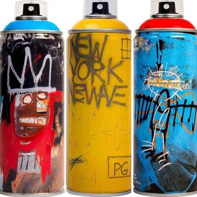 Jean-Michel Basquiat, 'Limited edition Basquiat spray paint can set', 2018