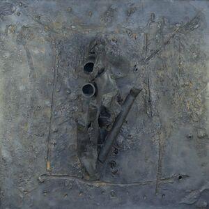 Peter Voulkos, 'Unique Bronze Plate', 1963