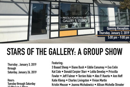 STARS OF THE GALLERY: A GROUP SHOW