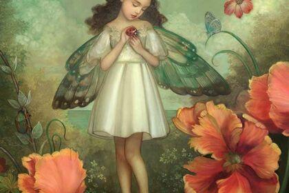"Annie Stegg Gerard, ""Wandering Dreamer"""
