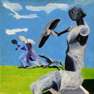 Ennio Calabria, 'Studio per Muore e Freme', 1972