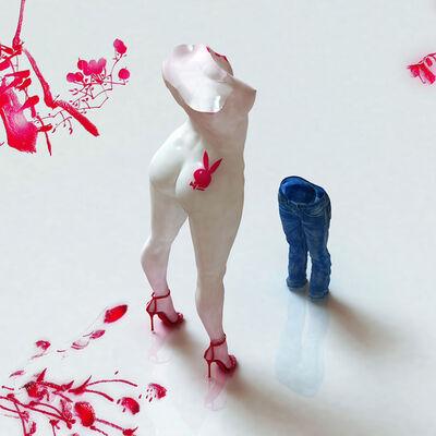 Kim Joon, 'Blue Jean Blues-Play Boy', 2012