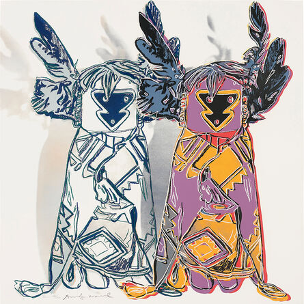 Andy Warhol, 'Kachina Dolls, from Cowboys and Indians', 1986