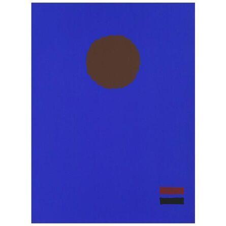 Adolph Gottlieb, 'Blue Night', 1970