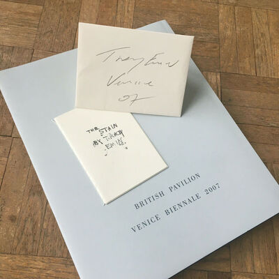"""Tracey Emin, 'DELUXE EDITION VENICE BIENNALE """"BORROWED LIGHT"""" BOOK & """"THE STAIN""""', 2007"""