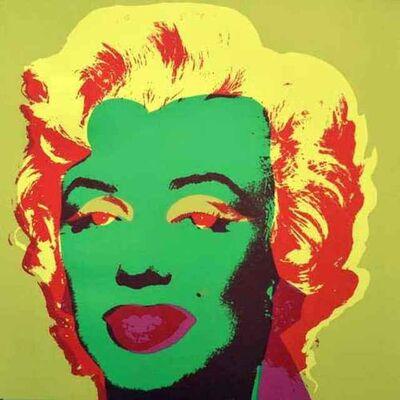 Andy Warhol, 'Green Marilyn 11.25', 1970