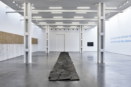 Richard Long: FROM A ROLLING STONE TO NOW