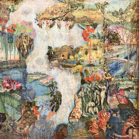 Suzy Scarborough, 'Floating Gardens'