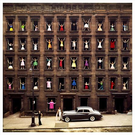 Ormond Gigli, 'Girls in the Windows, New York', 1960