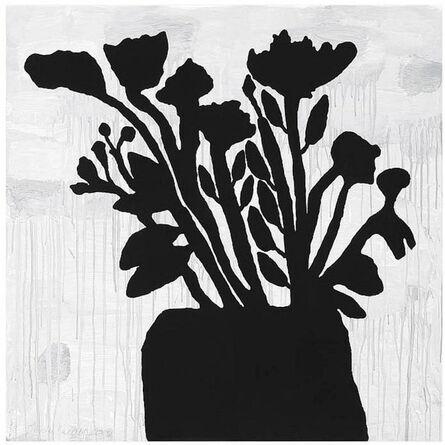 Donald Baechler, 'Flowers in Vase', 2009