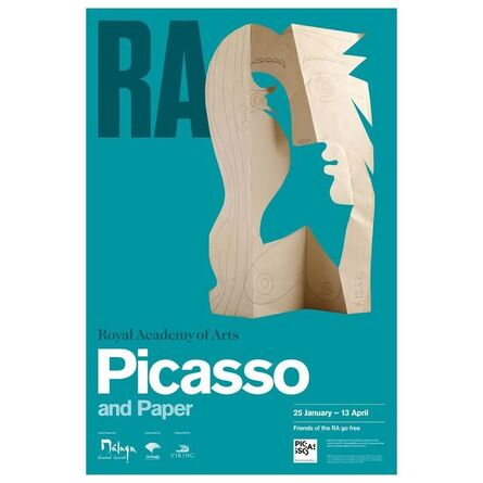 Pablo Picasso, 'PIcasso and Paper, Royal Academy of Arts Lithographic Museum Exhibition Poster', 2021