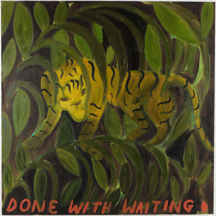 Sophie Vallance Cantor, 'A Painting to Manifest Good Luck for Douglas', 2020