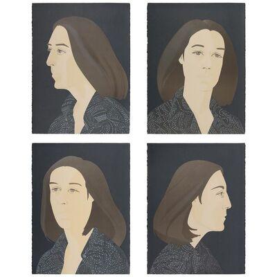 Alex Katz, 'Ada Four Times (M. 117-120; S. 118-121)', 1979-80
