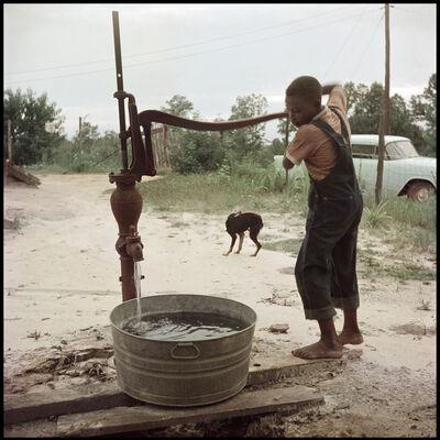 Gordon Parks, 'Untitled, Shady Grove, Alabama (Pumping Water 37.043)', 1956