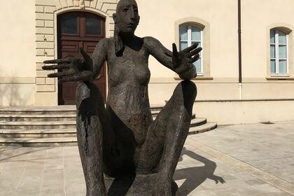 """Marc PETIT """"Au fil du bronze"""" en Provence"""