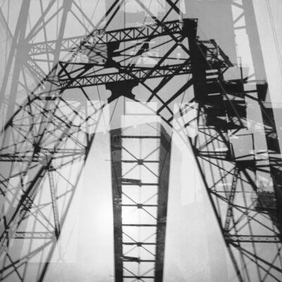 Herbert List, 'Loading crane - Double exposure. Hamburg, Germany', 1930