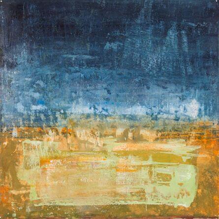 Margot Voorhies Thompson, 'Desert Poem, Deep Indigo', 2017