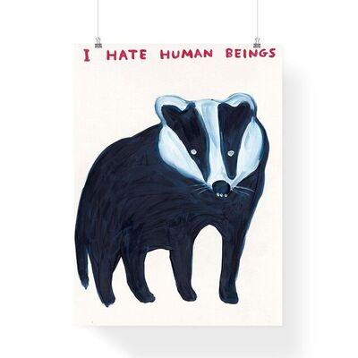 David Shrigley, 'I Hate Human Beings', 2021