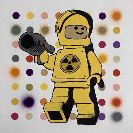 Ame72, 'Yellow Spot Meltdown', 2020